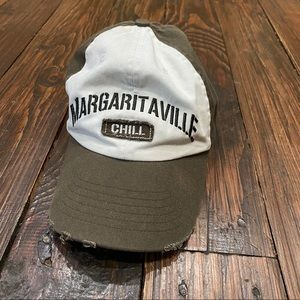 Green/White Margaritaville hat